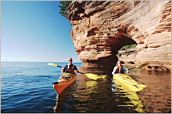 Kayaking in the Apostles.