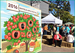 Apple Festival in Bayfield.