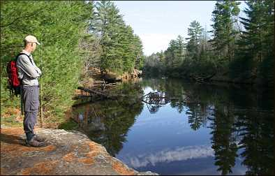 The Kettle River in Banning State Park.