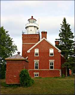 Big Bay Lighthouse B&B in Michigan.