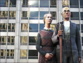 American Gothic in Chicago.