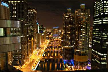 Chicago's Marina City complex.