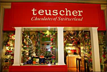 Teuscher Chocolates in Chicago.