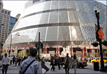 Helmut Jahn's Thompson Center.