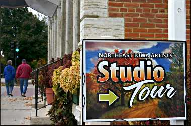 Northeast Iowa art tour in Decorah.