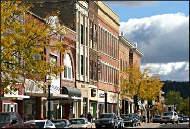 Downtown Decorah.