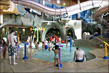 Chula Vista's indoor water park.