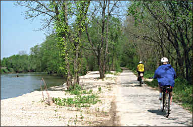 The Neal Smith Trail near Des Moines.