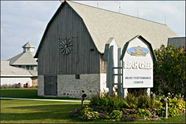 Birch Creek music center in Egg Harbor.