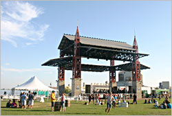 Duluth's Bayfront Festival Park.