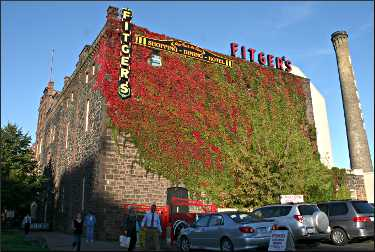 Fitger's brewery complex in Duluth.