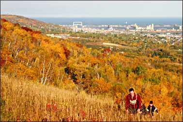 Superior Hiking Trail in Duluth.