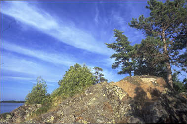 Esrey Park on the Keweenaw Peninsula.