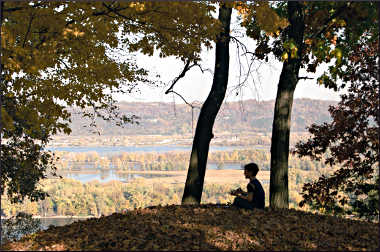 Fall at Effigy Mounds.