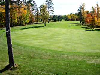 The golf course in Emily.