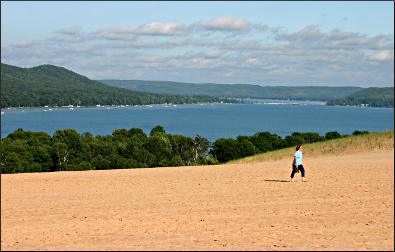 Dune Climb at Sleeping Bear.