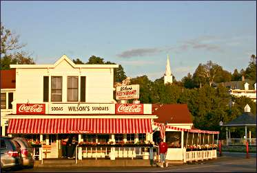 Wilson's ice-cream parlor in Ephraim.