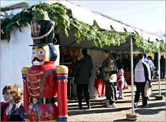 The Christkindlmarkt in Excelsior.