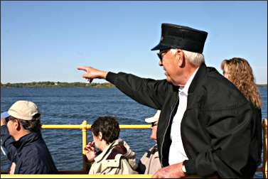 A conductor on the Minnehaha.
