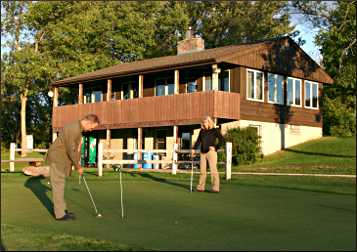 The golf chalet at Fort Ridgely.