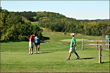 Fort Ridgely golf course.