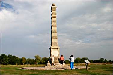 Obelisk at Fort Ridgely.