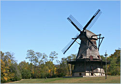 The Dutch windmill in Fabyan Forest Preserve.