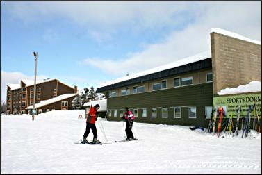 Giants Ridge lodge and dorm.