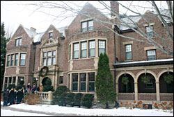 The governor's mansion in St. Paul.