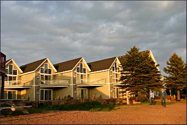 Cobblestone Cove Villas in Grand Marais.