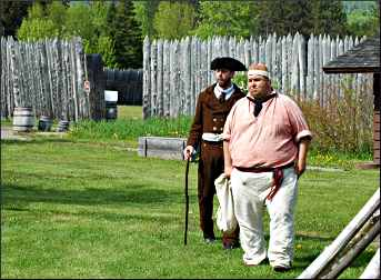 Interpreters at Grand Portage.