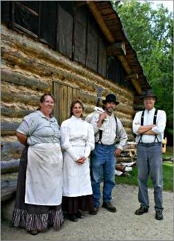 Interpreters at Forest History Center.