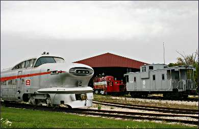 National Railroad Museum in Green Bay.