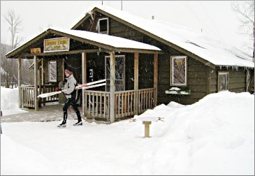 Golden Eagle Lodge on the Gunflint.