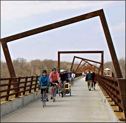 High Trestle Trail in Iowa.