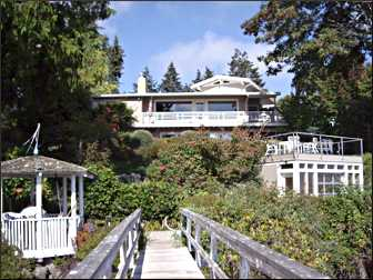 House on Bainbridge Island.