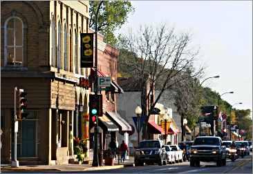 Hudson's main street.