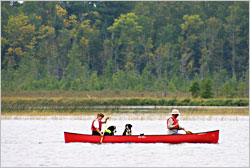 Canoeing at Itasca.