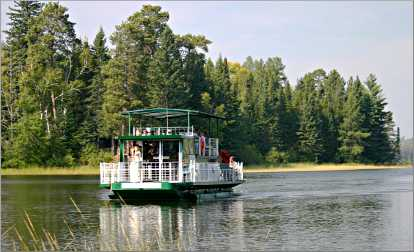 The Chester Charles excursion boat in Itasca.