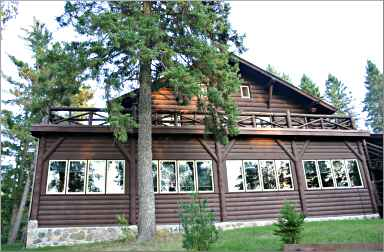 Douglas Lodge at Itasca State Park.
