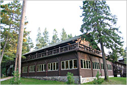 Douglas Lodge in Itasca State Park.
