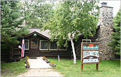 The Mississippi Headwaters Hostel in Itasca.