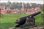 A cannon in Galena.