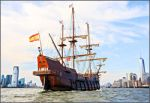 The Spanish galleon El Galeon Andalucia.