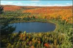 Fall colors on Oberg Mountain.