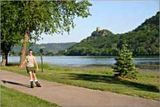 Inline skater on trail in Winona