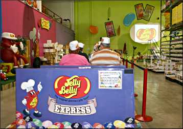The Jelly Belly tram.