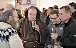 Beer fans at Roar on the Shore Brewfest.
