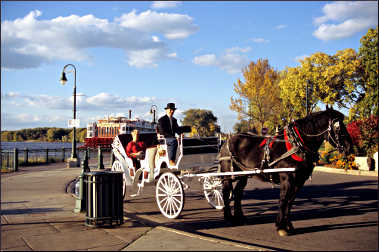 A carriage in La Crosse.