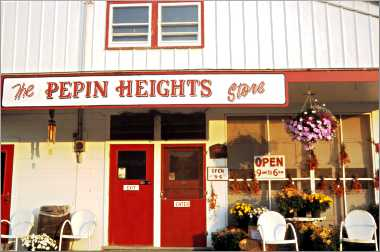 The Pepin Heights shop in Lake City.